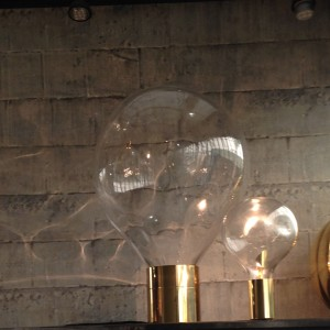 Ripple light duo by Harlequin at Decorex 2014
