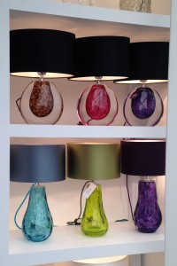 Heathfield lamps at Decorex 2014 - Illumina Lighting