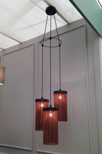 Feature pendant light by Tigermoth at Decorex 2014
