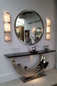 Villiers wall lights at Decorex 2014